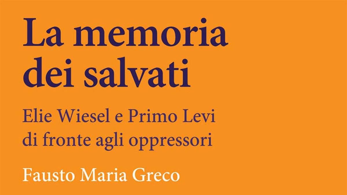 la copertina del libro 'La memoria dei salvati'
