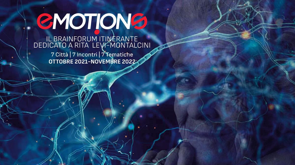 La locandina di Emotions, il Brainforum sulle donne scienziate