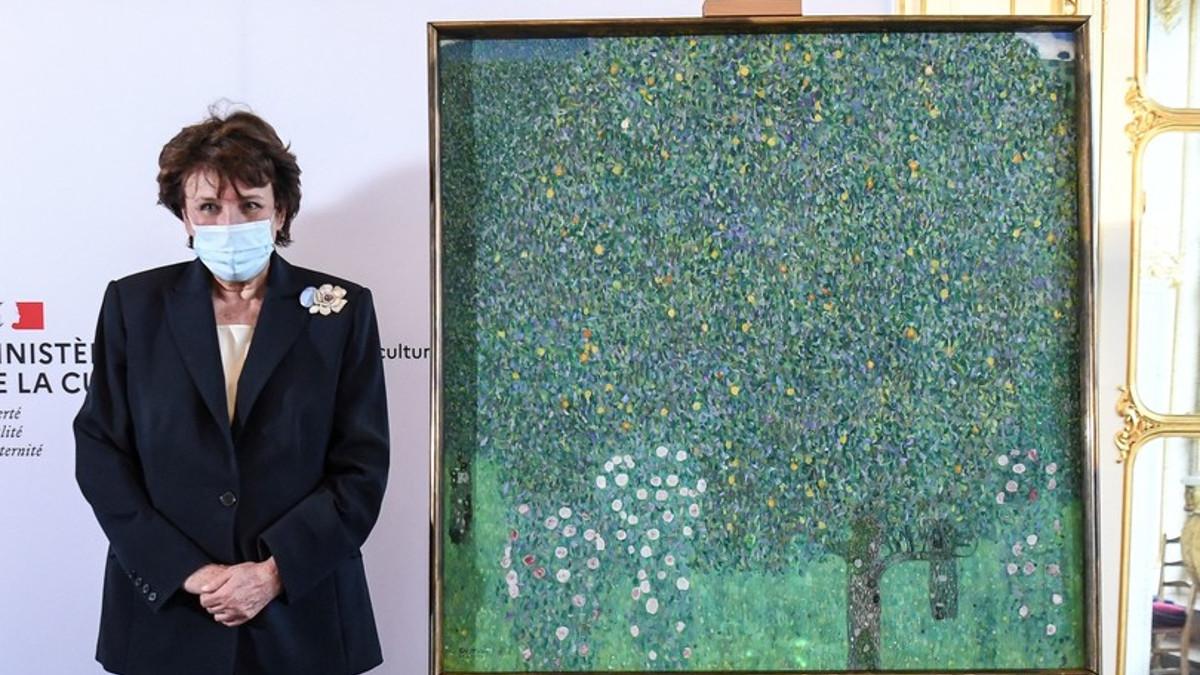 Il dipinto 'Il melo' di Gustav Klimt al Musée d'Orsay