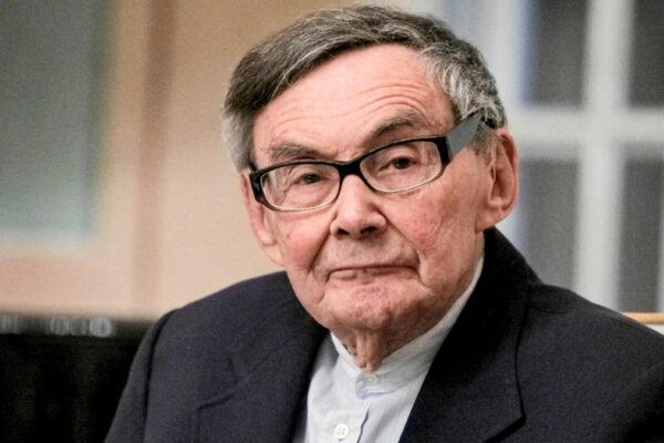 Il 93enne Marian Turski in onore del quale si vuole creare il giorno dei Sopravvissuti alla Shoah