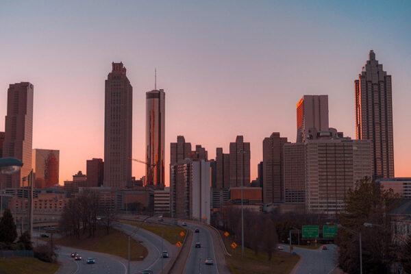 La città di Atlanta negli Usa