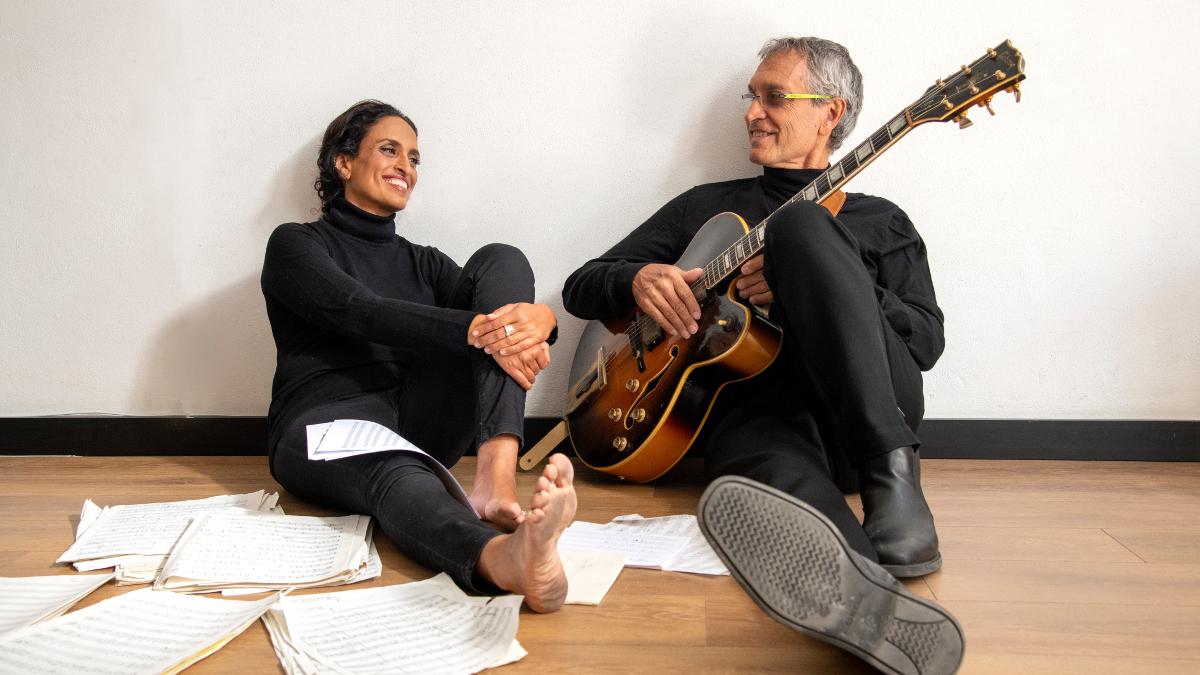 Noa e Gil Dor (foto di Ronen Akerman)
