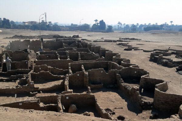 Città scoperta vicino a Luxor