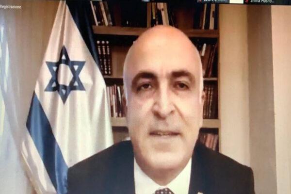 L'ambasciatore israeliano Dror Eydar