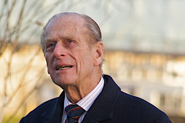 Il principe Filippo, duca di Edimburgo (foto del 2008, fonte Wikimedia Commons)
