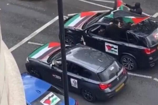 Manifestanti propalestinesi a Londra