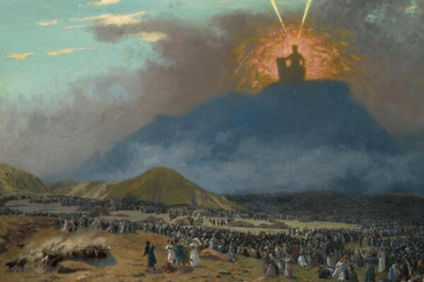 Mosè sul monte Sinai (dipinto di Gerome Jean-Léon)