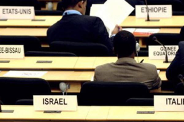 Tavoli dei Paesi che partecipano alla conferenza di Durban