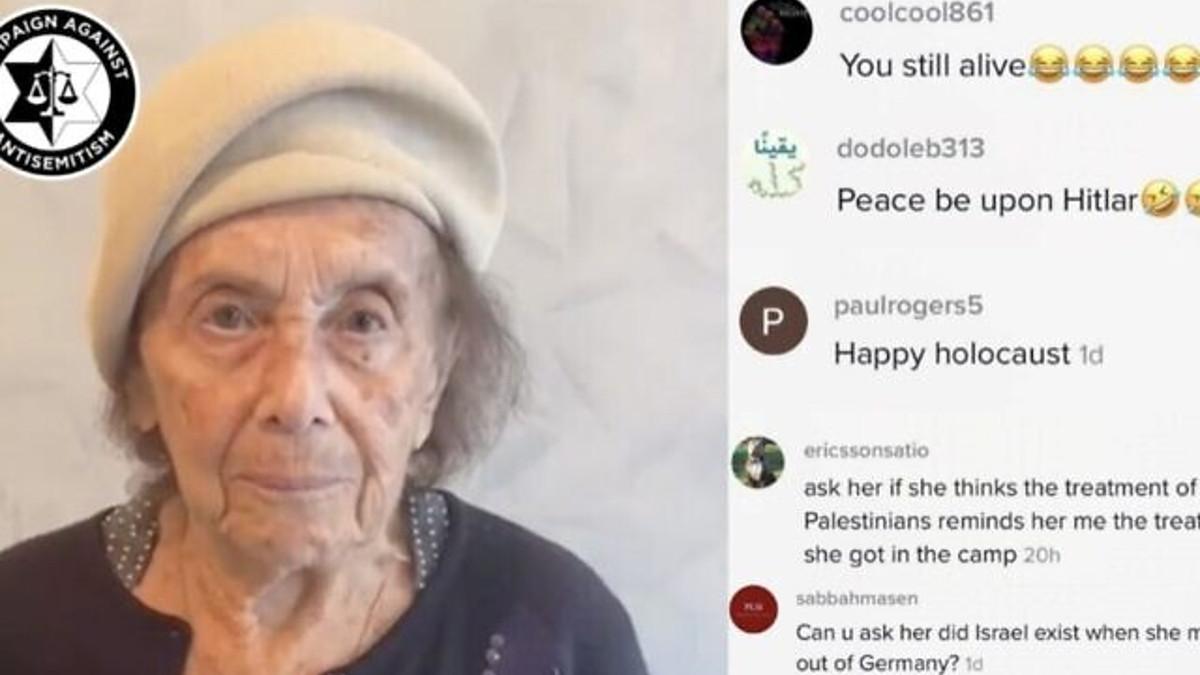 Lili Ebert è stata oggetto su TikTok di messaggi di odio e antisemiti