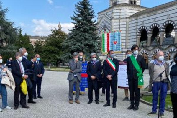 La cerimonia al Monumentale per la Liberazione di Mauthausen