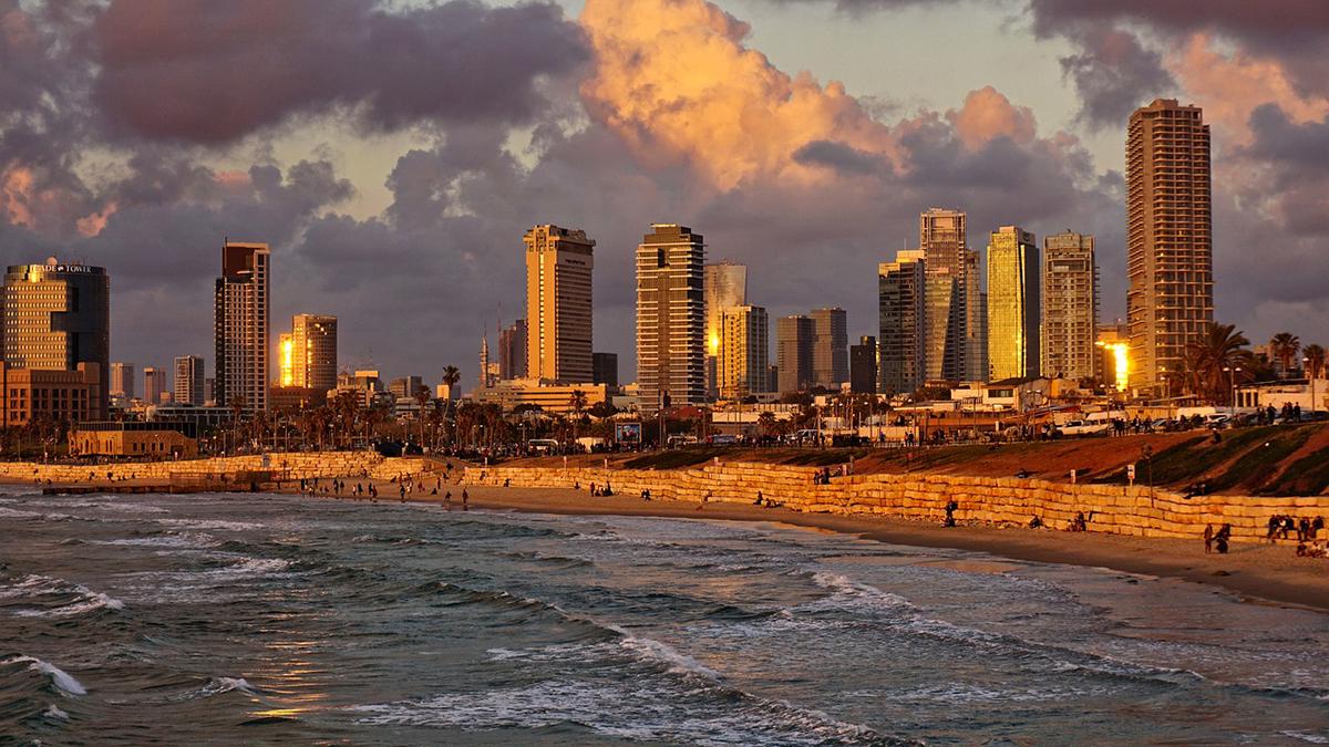 spiaggia tel Aviv