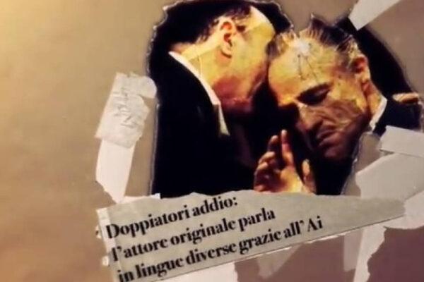 Un'immagine del video dei doppiatori italiani contro l'app DeepDub