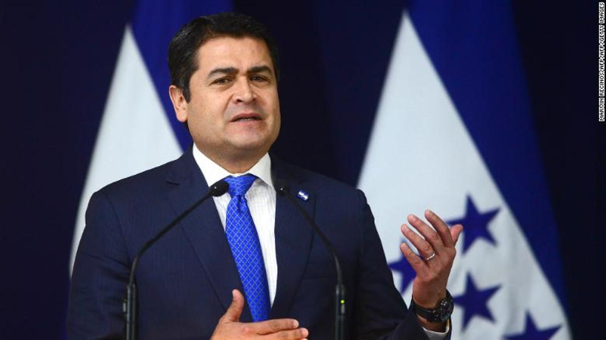 Juan Orlando Hernández, presidente dell'Honduras