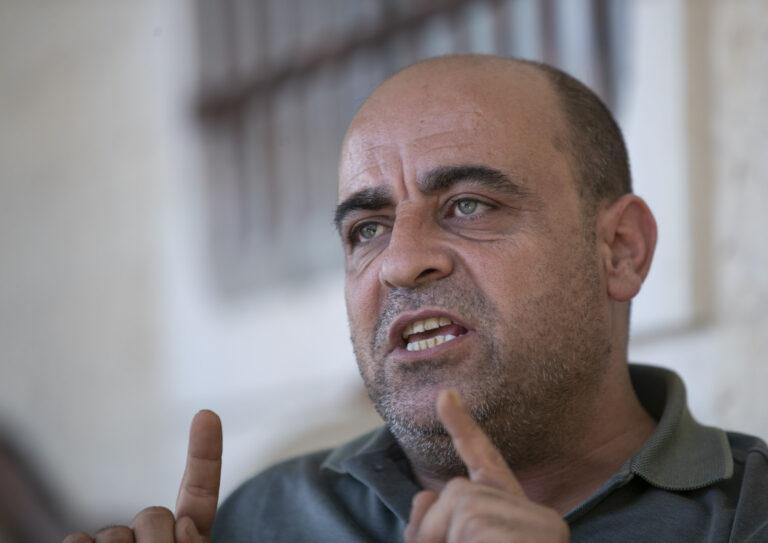 L'attivista ucciso dalla ANP Nizar Banat