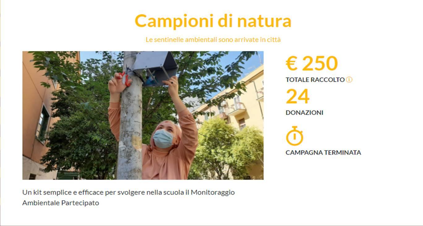 Il progetto 'Campioni di natura_asud' arrivato primo al Job Lab della Bocconi
