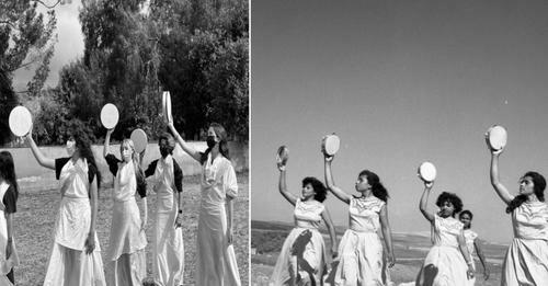 Ragazze che danzano: una foto del concorso fotografico della WZO