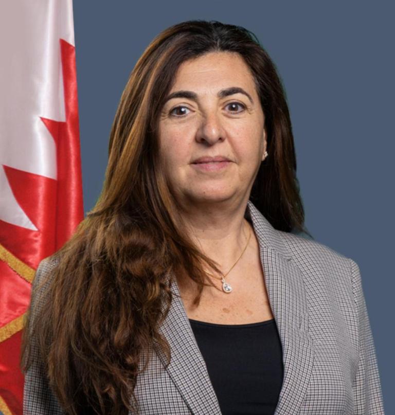 Houda Nonoo, ex ambasciatrice del Bahrein negli Usa