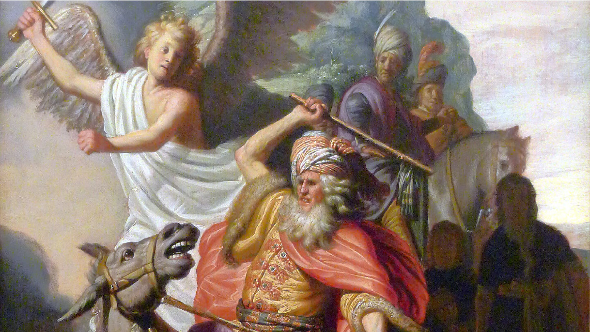 Balak e l'asina (dipinto di Rembrandt)