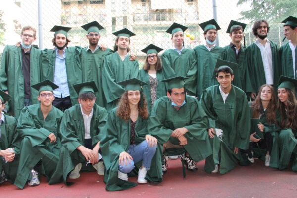 I ragazzi della scuola ebraica di Milano che hanno conseguito la maturità