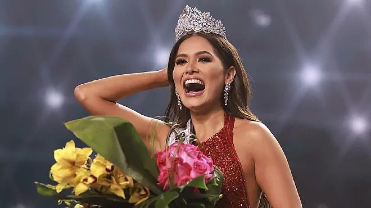 La messicana Andrea Meza, incoronata Miss Universo 2021
