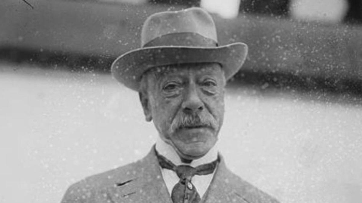 Ernesto Nathan fu sindaco di Roma dal 1907 al 1913