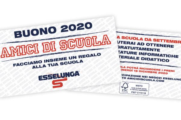 Buono Amici di Scuola Esselunga del 2020