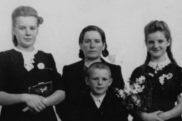la famiglia di Giusti Ruzgy