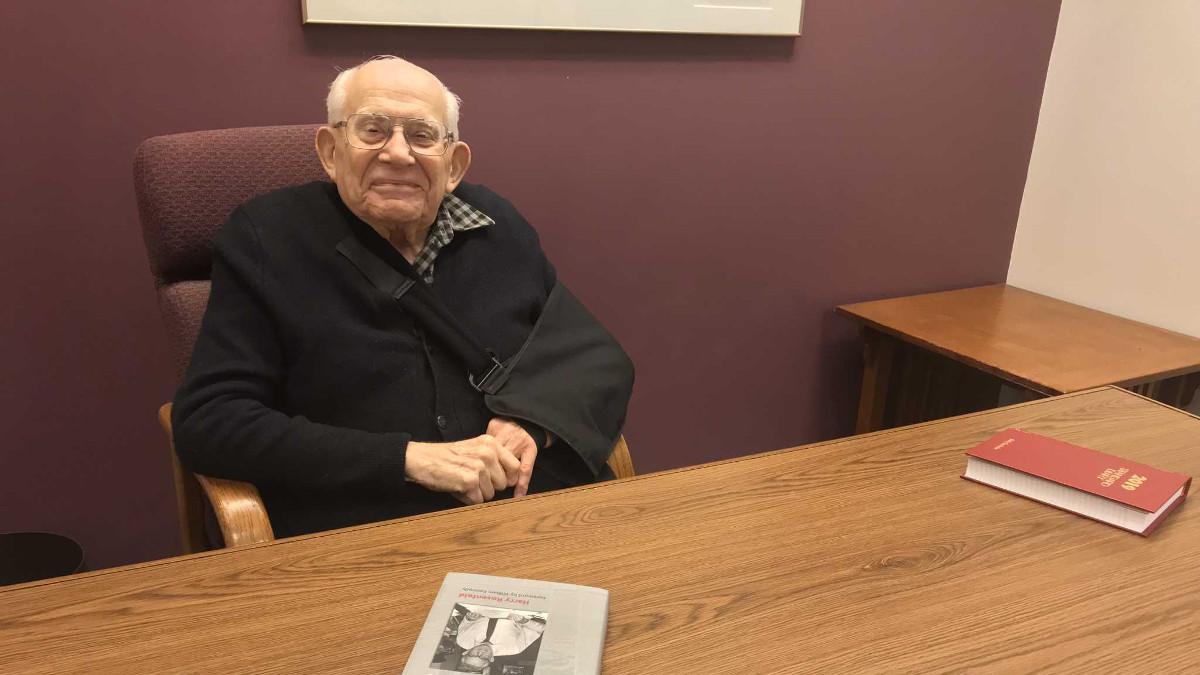 Harry Rosenfeld, caporedattore all'epoca dello scoop sul Watergate