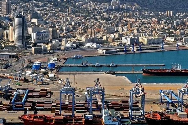 Nuovo porto di Haifa