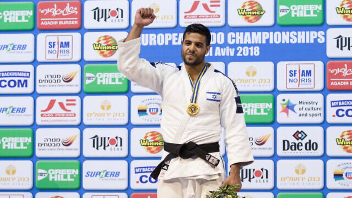 Il campione mondiale di judo Sagi Muki nel 2018