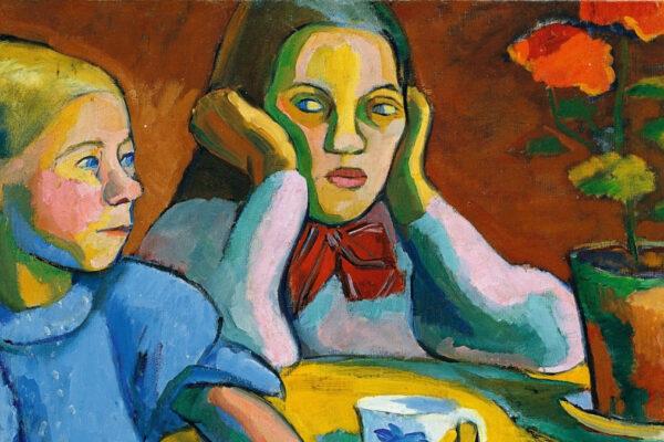 Sonia Delaunay, Deux fillettes finlandaises