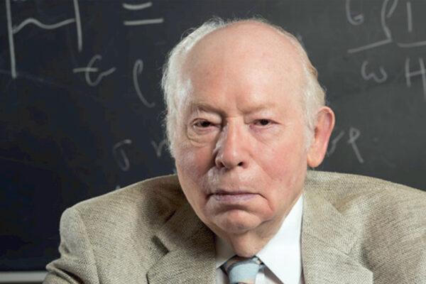 Il Premio Nobel per la fisica Steven Weinberg