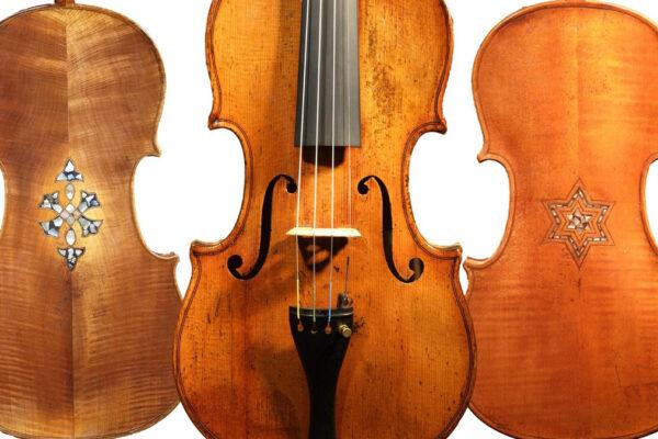 violini provenienti dalla Shoah
