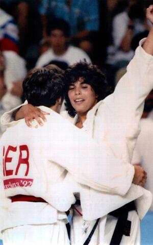 Yael Arad, vincitrice alle Olimpiadi di Barcellona nel 2012