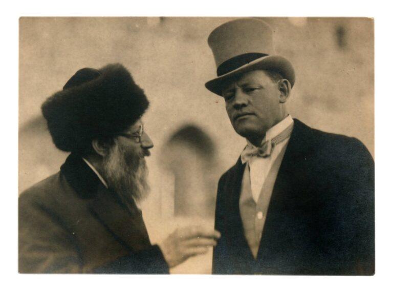 Rav Kook incontra Winston Churchill