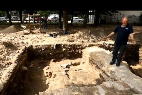 I bagni rituali ritrovati nella Grande Sinagoga di Vilna