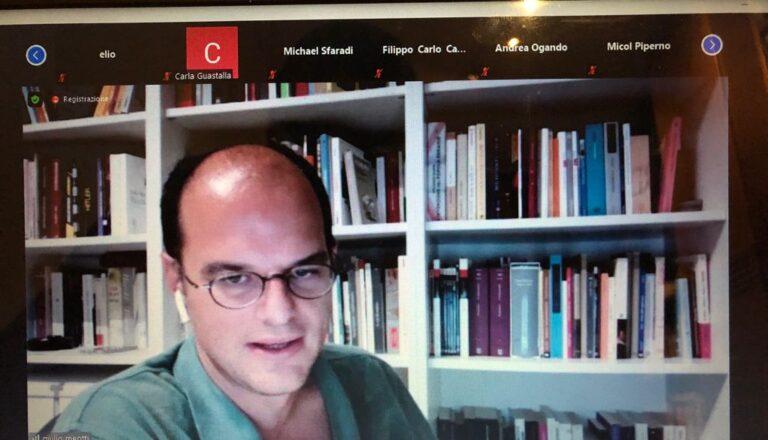 Giulio Meotti, giornalista de Il Foglio