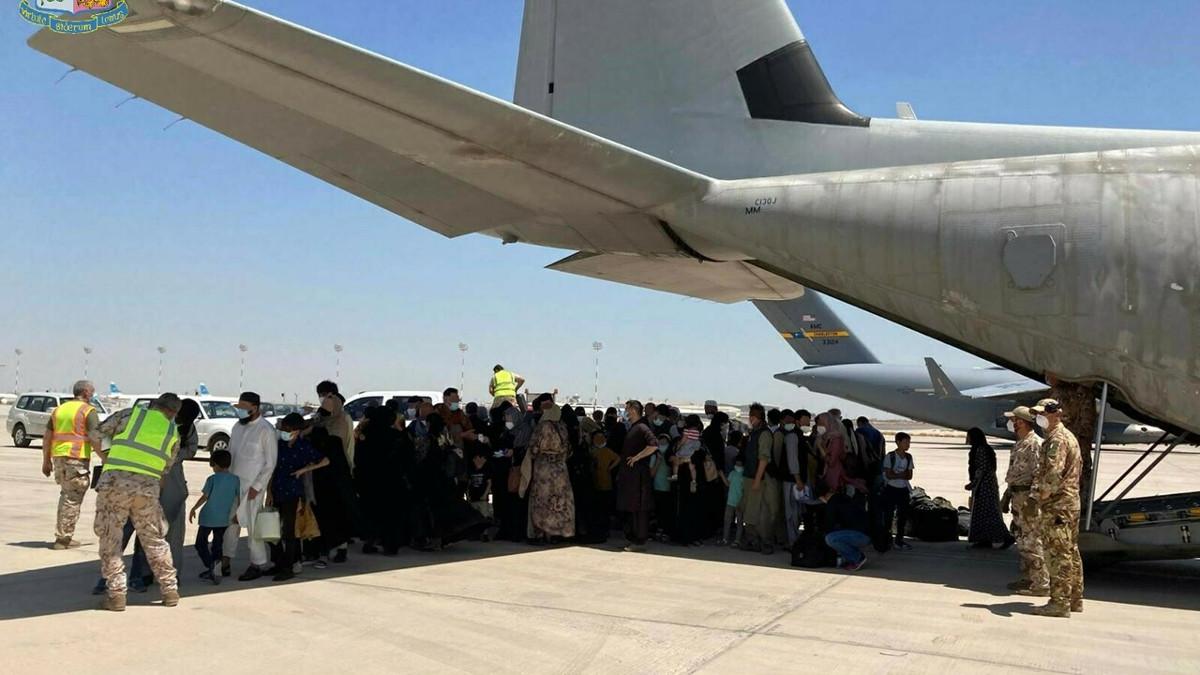 Profughi afghani arrivati in Italia