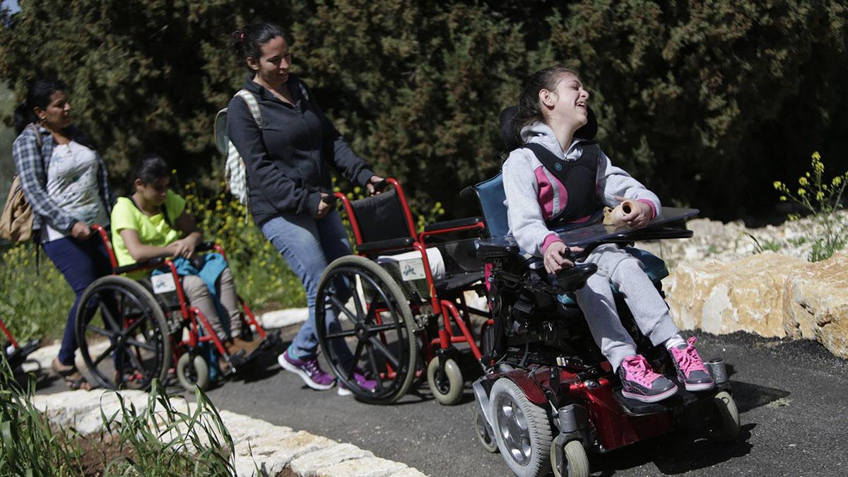 Il progetto Lotem per ragazzi disabili (fonte facebook)