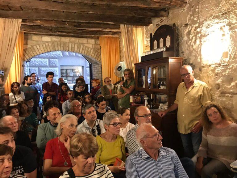 Uno degli eventi organizzato dall'associazione Chenabura – Sardos pro Israel