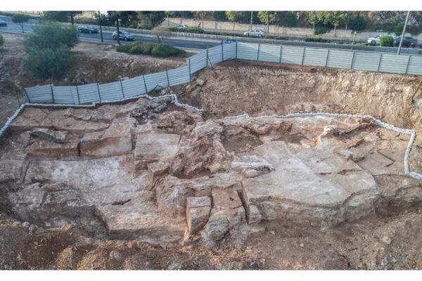 La cava di Har Hotzvim (foto dell'Autorità per le antichità israeliana)