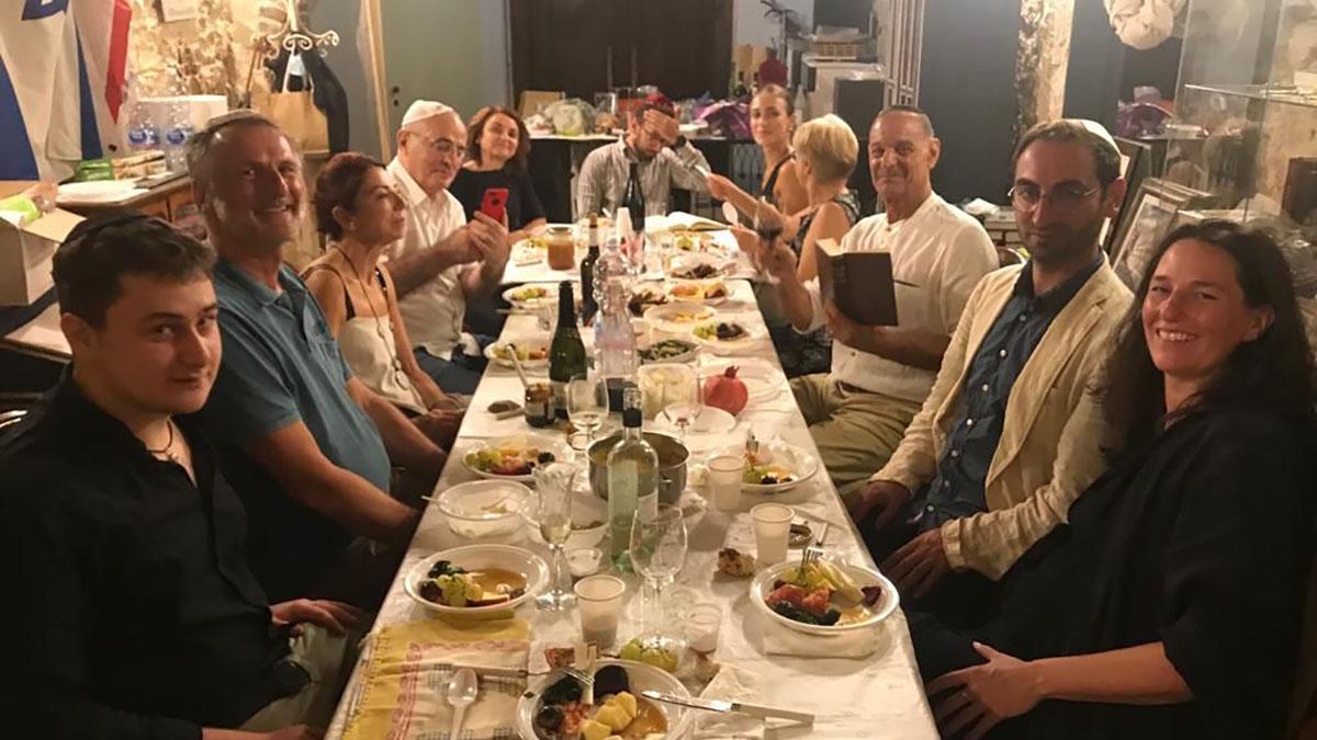 Un evento del gruppo di ebrei in Sardegna