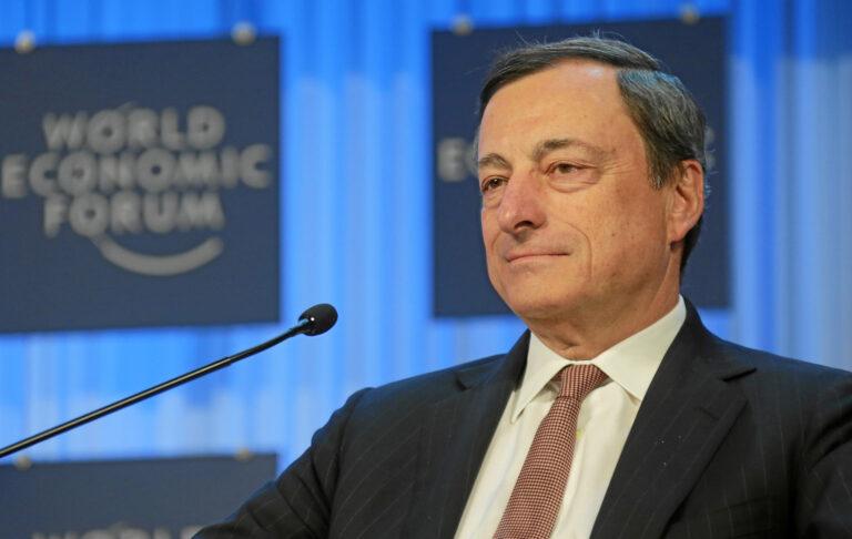 Il premier italiano Mario Draghi