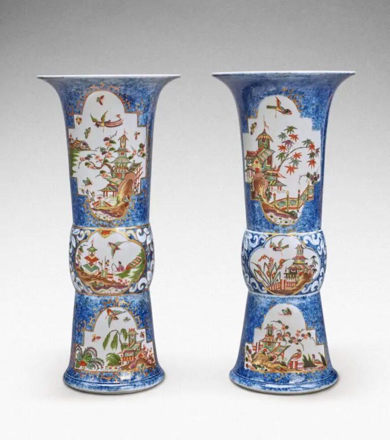 oggetti di porcellana Meissen della collezione Oppenheimer
