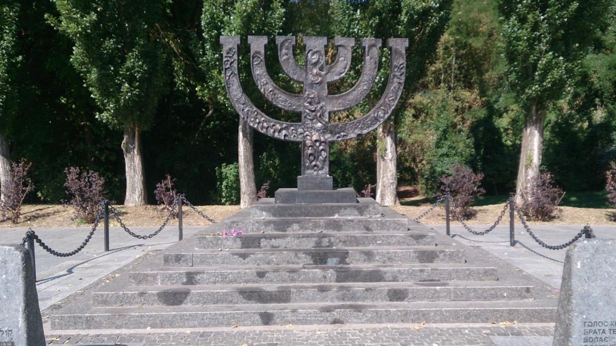 Memoriale alle vittime ebree trucidate nel 1941 a Baij Jar