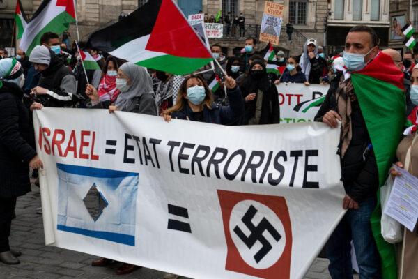 Cartello contro Israele a Lille
