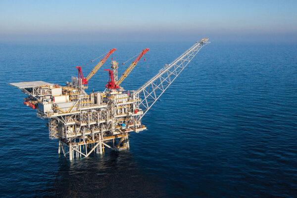 Il giacimento israeliano di gas Tamar