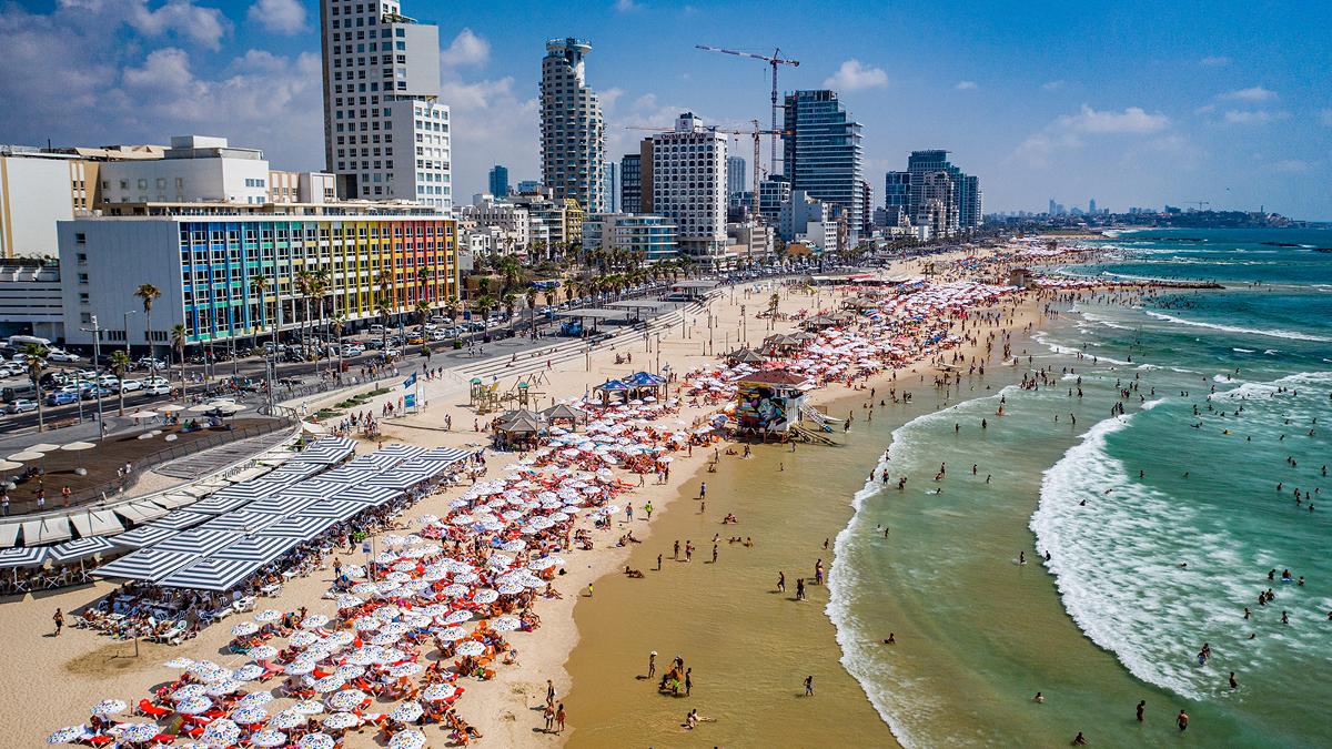 Panorama di Tel Aviv