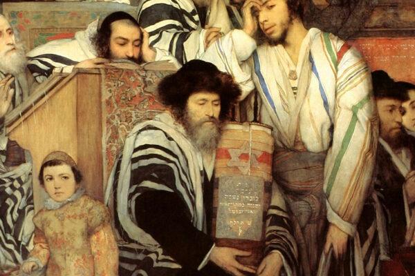 Celebrazioni di Yom Kippur (dipinto di Maurycy Gotliebb)