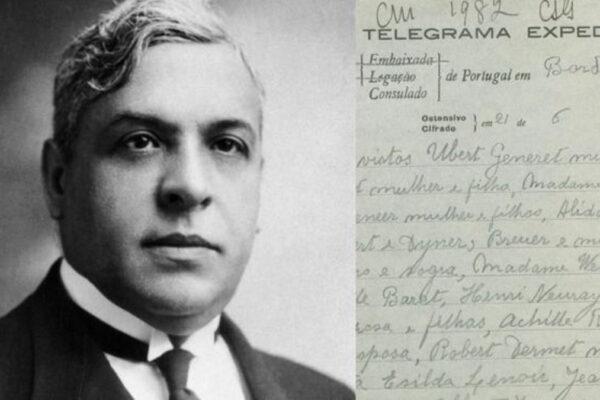 Aristides de Sousa Mendes, onorato dal Portogallo